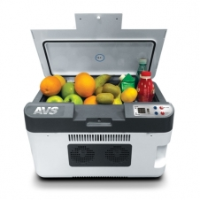 Термоэлектрический автохолодильник AVS CC-24WBC (24 л.) 12V/24V/220V (USB)