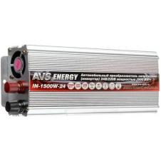 Автомобильный инвертор 24/220V AVS IN-1500W-24