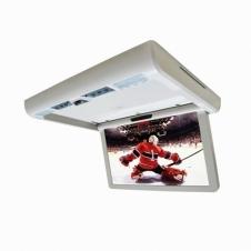 Потолочный монитор моторизированный XM  1580DBR (серый) 15.6