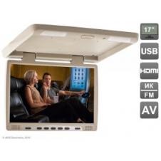 """Потолочный автомобильный монитор 17"""" со встроенным медиаплеером AVIS Electronics AVS117"""