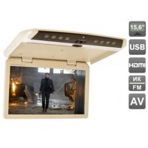 """Автомобильный потолочный монитор 15.6"""" со встроенным FULL HD медиаплеером AVIS Electronics AVS1550MPP"""