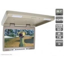 """Потолочный  автомобильный монитор 20.1"""" с HDMI и встроенным медиаплеером AVIS Electronics AVS2020MPP"""