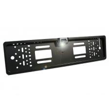 Камера заднего вида в рамке номерного знака AVS388CPR (CCD) с LED подсветкой