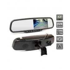 Зеркало заднего вида со встроенным видеорегистратором AVIS Electronics AVS0470DVR