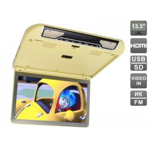 """Автомобильный потолочный монитор 13.3"""" со встроенным FULL HD медиаплеером AVIS Electronics AVS440MPP"""