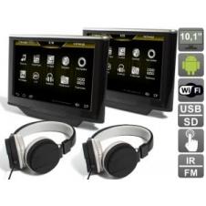 """Комплект навесных мониторов на подголовник с диагональю 10.1"""" AVIS Electronics AVS1033AN (#05) на Android для автомобилей BMW 5er (2013-...) / X5 F15 (2013-...)"""