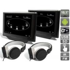 """Комплект навесных мониторов на подголовник с диагональю 10.1"""" AVIS Electronics AVS1033AN (#03) на Android для автомобилей Audi A8 D4 (2010-...)"""