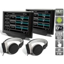 """Комплект навесных мониторов на подголовник с диагональю 10.1"""" AVIS Electronics AVS1033AN (#02) на Android для автомобилей Land Rover/ Range Rover"""