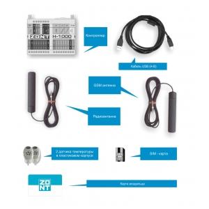 Контроллер отопления ZONT H-1000
