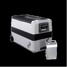 Компрессорный автохолодильник Alpicool T50 с дополнительной внешней батареей