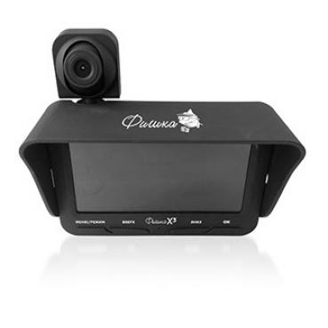 Подводная видеокамера Фишка х3 (две камеры + запись)