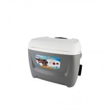 Изотермический пластиковый контейнер Igloo Island Breeze 60 Roller gray