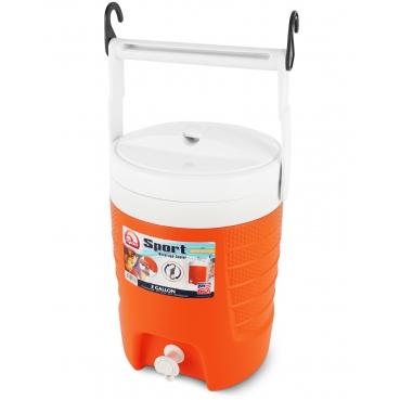 Изотермический пластиковый контейнер Igloo 2 Gal Sport Beverage Orange