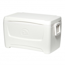 Изотермический пластиковый контейнер Igloo Island Breeze 48 white
