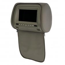 """Комплект подголовников со встроенным DVD плеером и LCD монитором 7"""" ERGO  ER700H (серый)"""