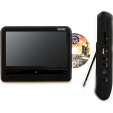 """Комплект навесных мониторов на подголовник с диагональю 9"""" и встроенным DVD-плеером ERGO ER9T (чёрный)"""