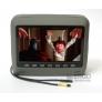 """Подголовник со встроенным DVD плеером и LCD монитором  9"""" ERGO ER9HD (серый)"""