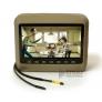 """Подголовник со встроенным DVD плеером и LCD монитором 9"""" ERGO  ER9HD (бежевый)"""