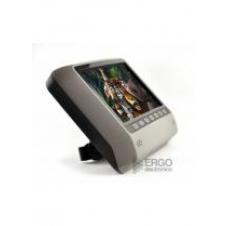"""Навесной монитор на подголовник с LCD 9"""" и DVD-проигрывателем ERGO (серый)"""