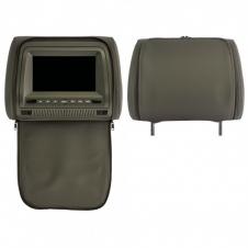 Подголовник с монитором ERGO ER700HD серый