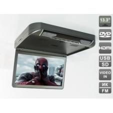 """Потолочный монитор 13,3"""" Ergo  ER13S-DVD"""