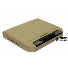"""Автомобильный потолочный монитор 13.3"""" со встроенным Full HD медиаплеером ERGO ER13S-DVD (бежевый)"""
