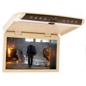 """Автомобильный потолочный монитор 15.6"""" со встроенным Full HD медиаплеером ERGO ER156FH (бежевый)"""