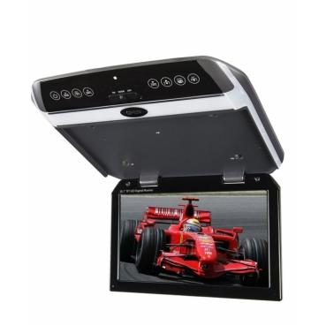 """Автомобильный потолочный монитор 10.2"""" со встроенным медиаплеером ERGO ER102FH"""