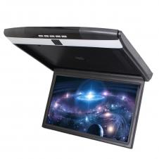 """Автомобильный потолочный монитор 15.6"""" со встроенным Full HD медиаплеером ERGO ER15S (черный)"""