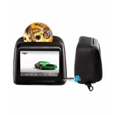"""Комплект подголовников со встроенным DVD плеером и LCD монитором 7"""" ERGO ER703H (Чёрный)"""