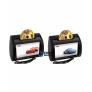 """Комплект подголовников со встроенным DVD плеером и LCD монитором 9"""" (ОБА С DVD) ERGO ER901HD (сенсорные)"""