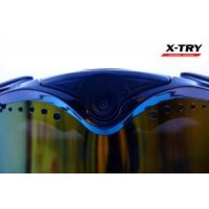 Маска с камерой X-TRY XTM100B HD1080P WiFi (линза Blue)