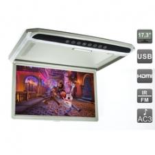 Потолочный монитор со встроенным медиаплеером Avis AVS1707MPP