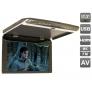 """Автомобильный потолочный монитор 17.3"""" со встроенным FULL HD медиаплеером AVIS Electronics   AVS1750MPP"""