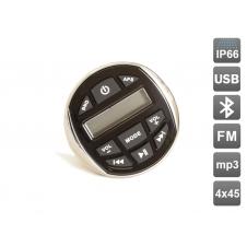 Влагозащищенный усилитель для мотоцикла / квадроцикла AVIS AVS120 с MP3 плеером и Bluetooth под встройку