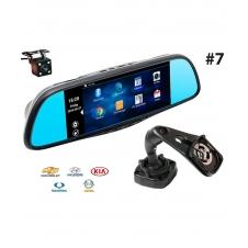 Многофункциональное зеркало RECXON RX-7  №7 на базе ОС Android c 2-мя камерами