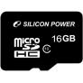 Silicon Power MicroSD 16 Gb (class 10)