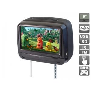 """Подголовник с сенсорным монитором 9"""" и встроенным DVD плеером AVIS Electronics AVS0945T (черный)"""