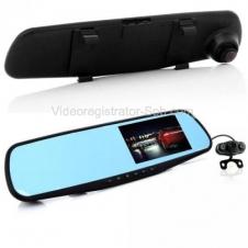 Видеорегистратор-зеркало Eplutus D02 с двумя камерами Full HD